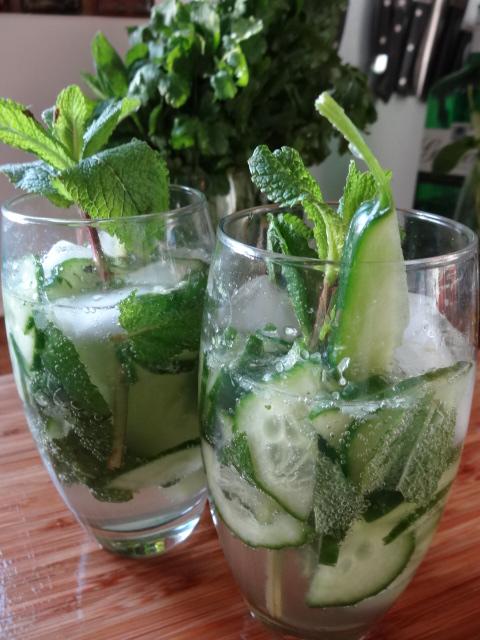 Cucumber & Mint G&T